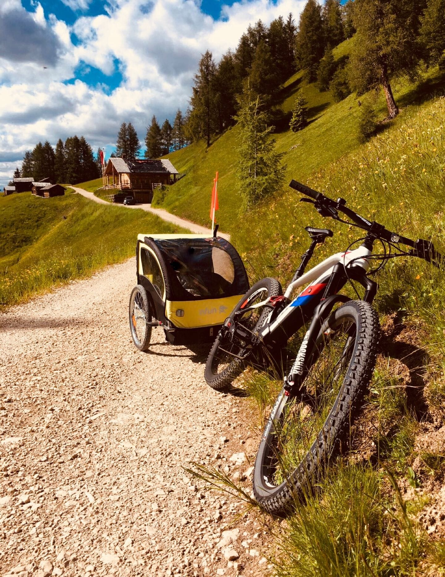 A fabulous e-bike tour for families